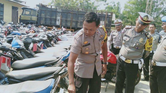 Satlantas Polres Tulangbawang Tindak 2.797 Pelanggaran dan Kandangkan Ratusan Kendaraan