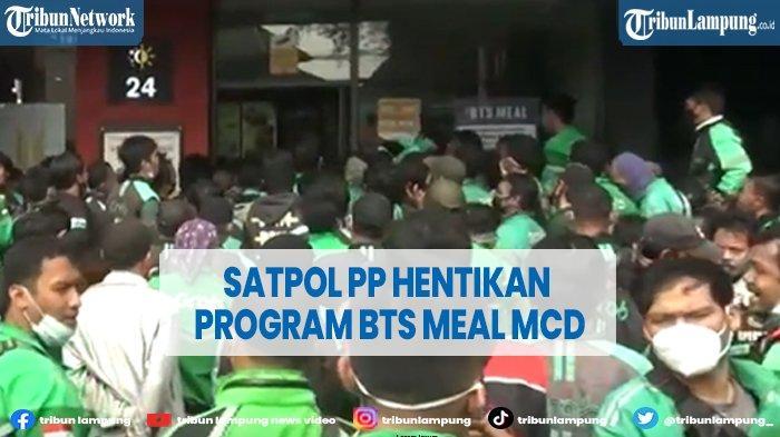 Satpol PP Kota Depok Tutup Sementara McD City Plaza Gegara BTS Meal