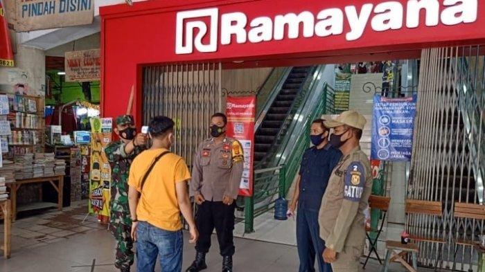 Satgas Penanganan Covid 19 Wajibkan Pengunjung Mall Ramayana Patuhi Prokes dan 3M