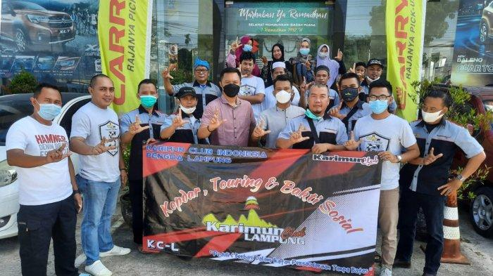 Karimun Club Lampung Gelar Baksos di Ponpes Tahfidz Qur'an Arraudhoh