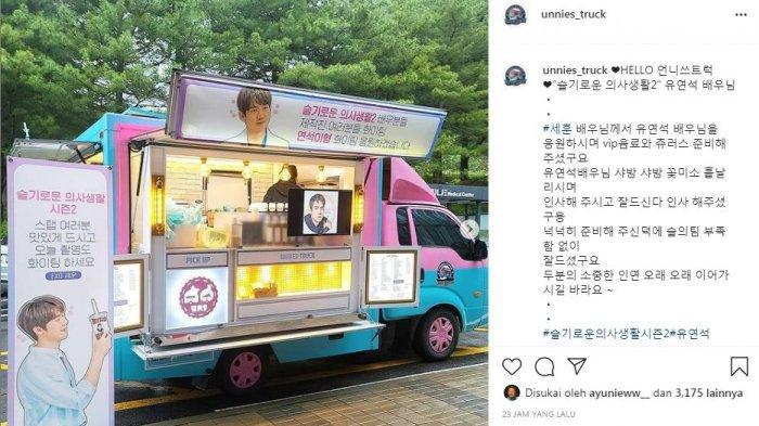 Sehun EXO kirim food truck