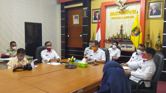 Sekdaprov Lampung Beri keterangan Seleksi Calon Aparatur Sipil Negara Tahun 2021