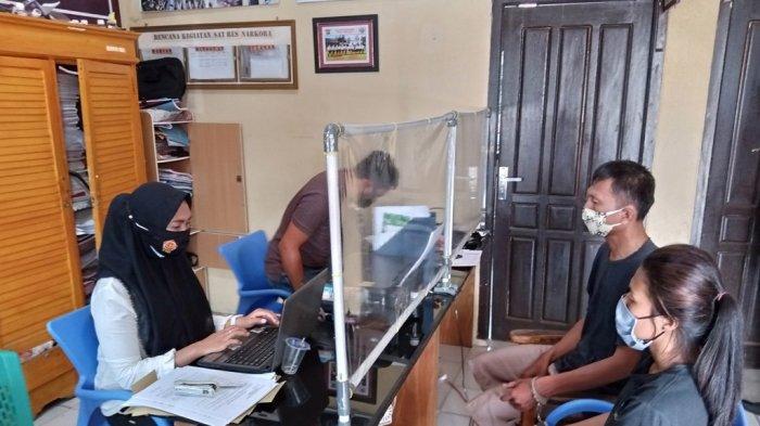 Sepasang Kekasih di Lampung Barat Konsumsi Sabu, si Pria Diduga Pengedar