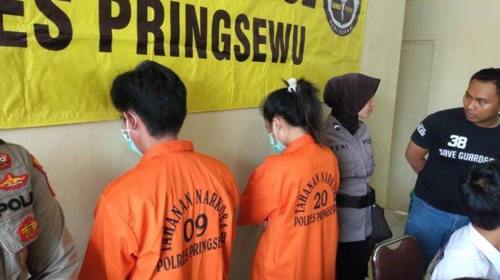 Sepasang Kekasih di Pringsewu Jadi Bandar Narkoba, Disita Barang Bukti Sabu Rp 50 Juta