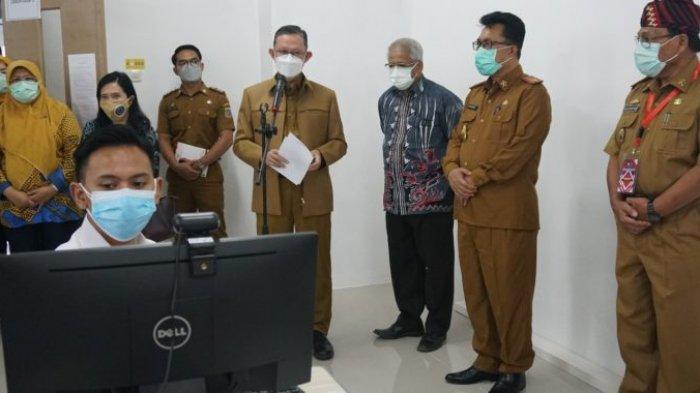Pejabat Teras Lampung Beri Motivasi Peserta Tes SKD CPNS di Itera