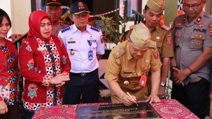 Sekarang di Lampung Barat Ada Gedung Pusat Informasi Pariwisata, Begini Fasilitasnya