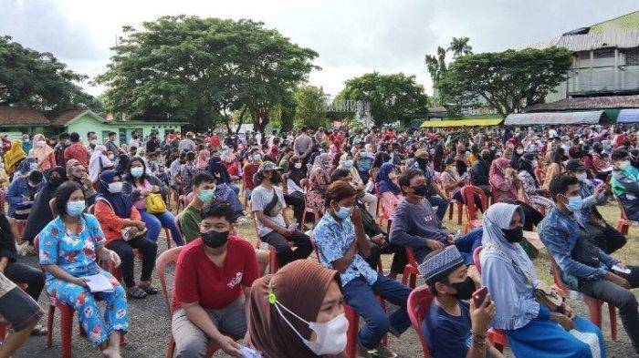Sekitar 8 Ribu Warga Bandar Lampung Divaksin dalam Sehari
