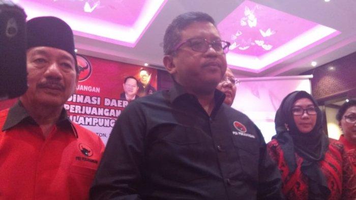 Pilgub Lampung 2018 - Sekjen PDI Perjuangan Sebut Demokrasi di Lampung Dibajak Kekuatan Kapital