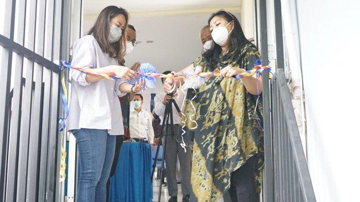 Sekolah Darma Bangsa Lampung Lakukan Peresmian Area Parkir Gedung B