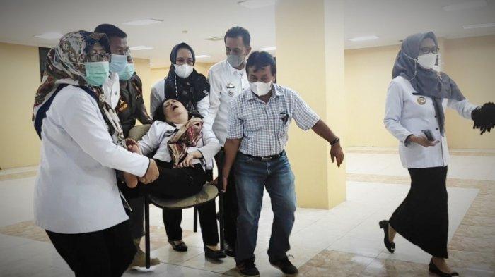 Sekretaris TPHKP Lampung Jatuh Pingsan saat LKPJ Satgas Covid, Kadis: Punya Penyakit Darah Tinggi