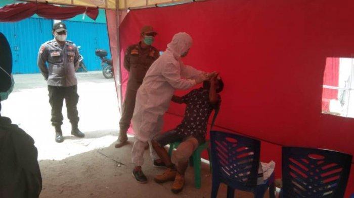 Selama Libur Lebaran, 429 Orang Jalani Rapid Test di Posko Check Poin Wilayah Tulangbawang Lampung