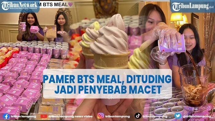 Sisca Kohl Borong BTS Meal Puluhan Kotak: Nugget, Kentang dan Cola Dibuat Es Krim
