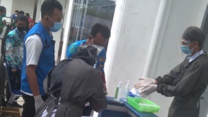 Seluruh Pejabat Eselon II dan III Pemkab Lampung Utara Dites Urine, Hasilnya?