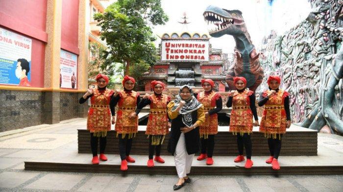 Universitas Terbaik di Lampung, Universitas Teknokrat Juara Lomba Senam Lampung Berjaya