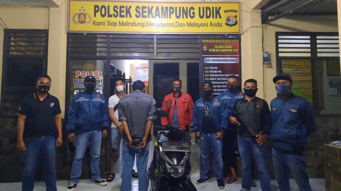 Penadah Motor CurianAsal Sekampung Udik Lampung Timur Diamankan Polisi