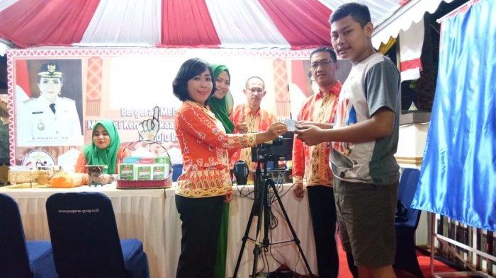 Disdukcapil Tuba Buka Layanan di Pekan Raya Lampung