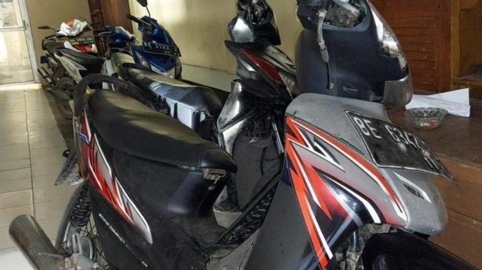 Bandit Asal Kota Agung Timur Tanggamus Kerap Bobol Rumah Curi Motor Korban