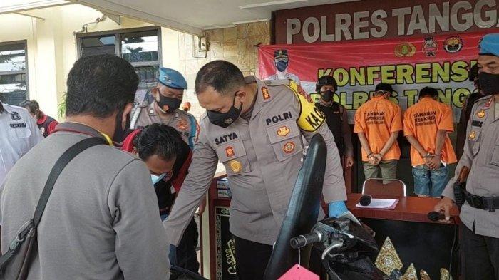 Ambil Motornya yang Dicuri, Warga Pringsewu Lampung Datangi Mapolres Tanggamus