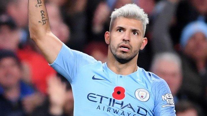 Line Up Manchester City Vs Arsenal, Sergio Aguero Diturunkan