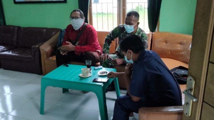 Serma Marsono Komsos dengan Warga Way Tuba Way Kanan Lampung