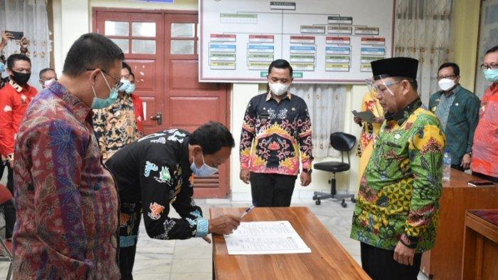 Sertijab Plt Kadisdikbud, Dawam Berharap Dapat Bersinergi Majukan Lampung Timur