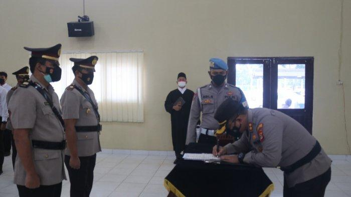 Mutasi di Polres Lampung Timur, Kasat Intelkam hingga 3 Kapolsek
