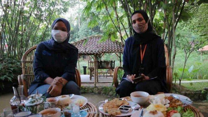 Kuliner Lampung - Maknoni Village, Restoran Bergaya Tradisional