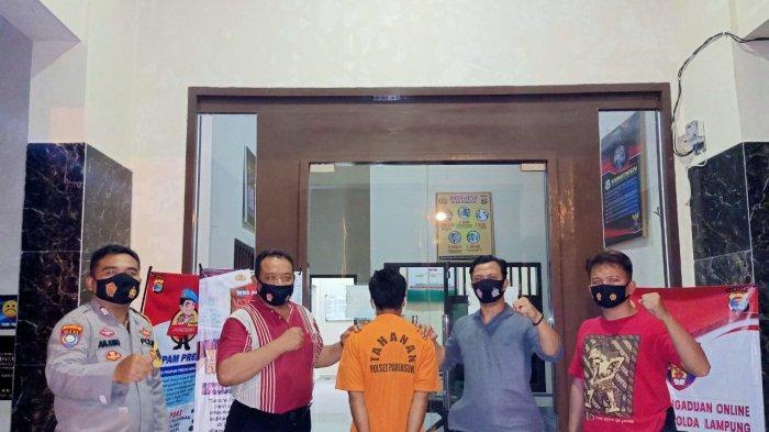 Setahun Kabur, Pencuri Ponsel di Pringsewu Ditangkap saat Pulang Kampung