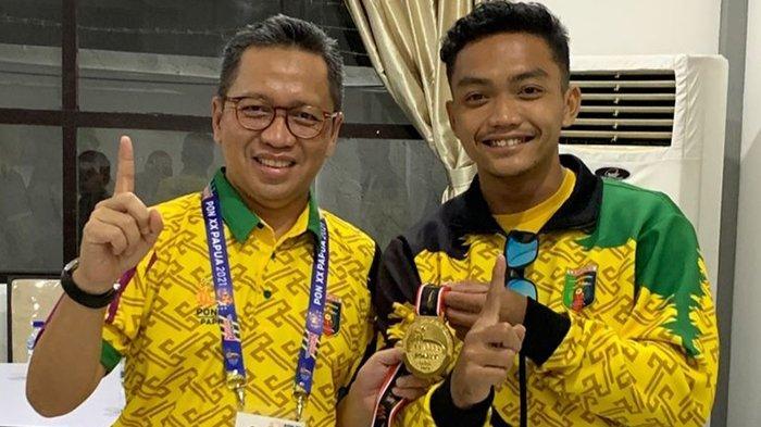 Setiawan Halim Tak Sangka Bisa Raih Medali Emas untuk Lampung di PON XX Papua 2021