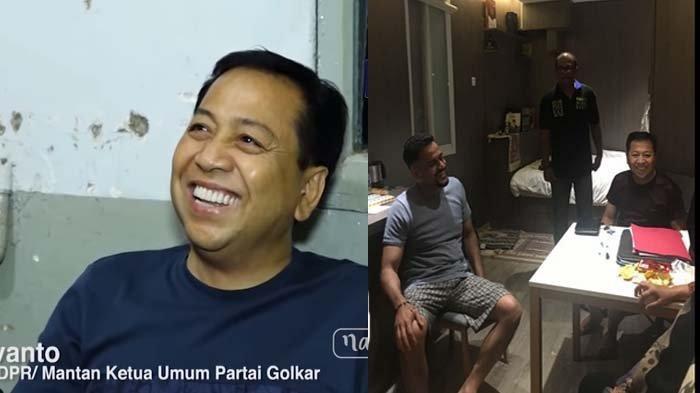 Penjelasan Pemerintah Soal Foto Viral Setya Novanto Main HP di Lapas Sukamiskin