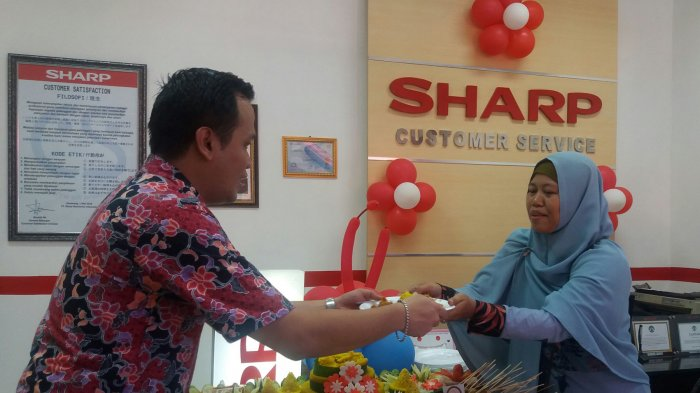 Kini Sharp Electronics Center Ada di Tengah Kota Bandar Lampung