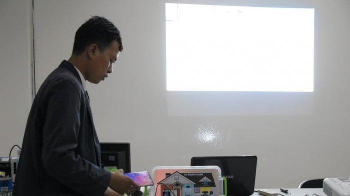 Mahasiswa IIB Darmajaya Ciptakan Monitoring dan Pengendalian Fasilitas Rumah Hunian Berbasis IoT