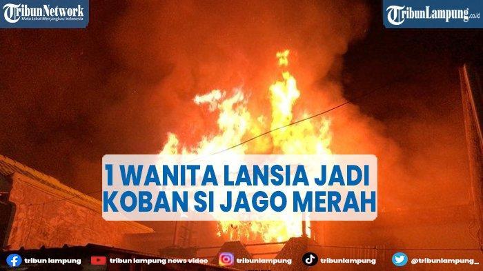Lansia Tewas Terjebak Kobaran Api di Perumnas Depok