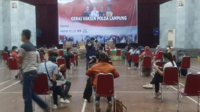 Polda Lampung Gelar Vaksinasi Covid-19 untuk Warga Umum di Kampus Unila Bandar Lampung