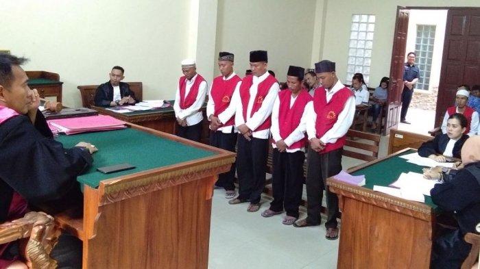 Bunuh dan Jual Belikan Organ Tubuh Harimau Sumatera, 5 Terdakwa Divonis 3 Tahun