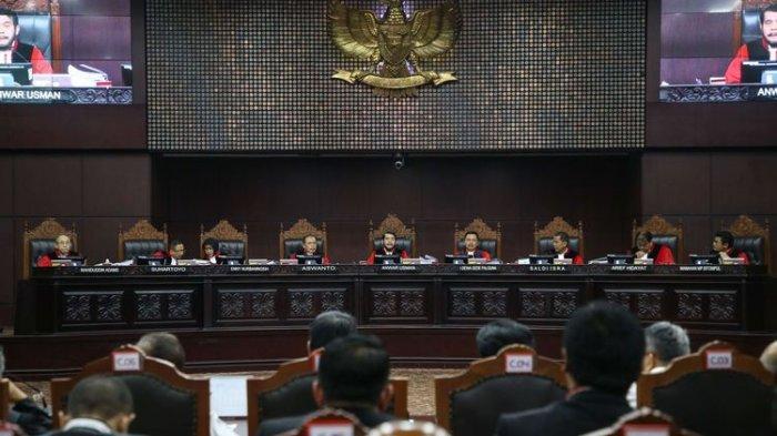 Sidang Sengketa Pilpres Ditutup, Ketua MK Janji Adil