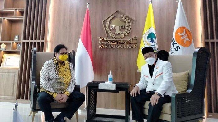Silaturahmi Golkar-PKS Sepakat Tinggalkan Politik Identitas