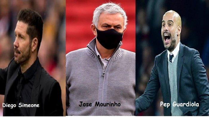 Daftar 15 Pelatih Sepak Bola Top Dunia Versi IFFHS,dari Mourinho, Guardiola, Ferguson