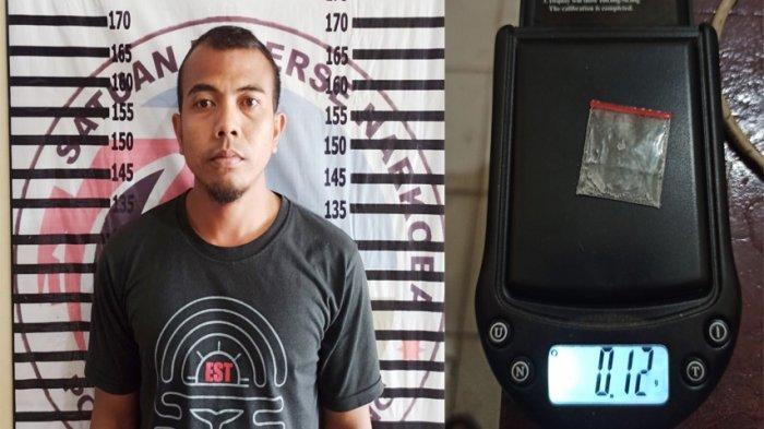 Simpan Sabu di Mes Karyawan, Pria asal Lampung Utara Dibekuk Polres Tulangbawang