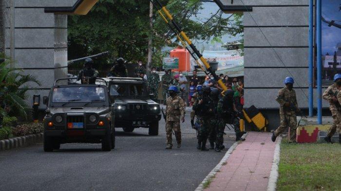 Pemprov Lampung Apresiasi Simulasi Pembebasan Sandera di Kantor Gubernur Lampung