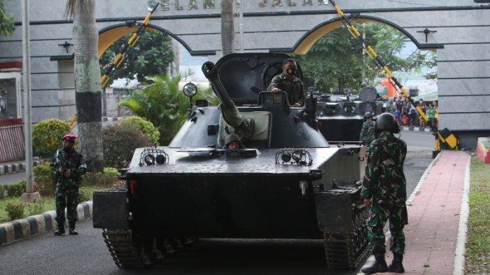 Simulasi Pembebasan Sandera di Komplek Kantor Gubernur Lampung