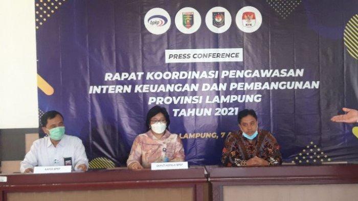 Sinergi BPKP dan Pemprov Lampung Kawal Program Prioritas Daerah