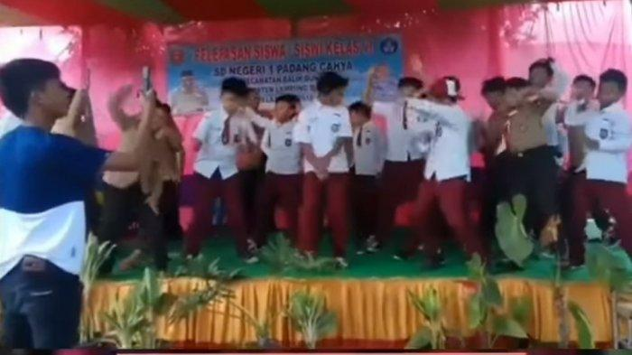 Viral Murid SD di Lampung Barat Joget Dangdut Remix, Kepala Sekolah Malu dan Mengundurkan Diri