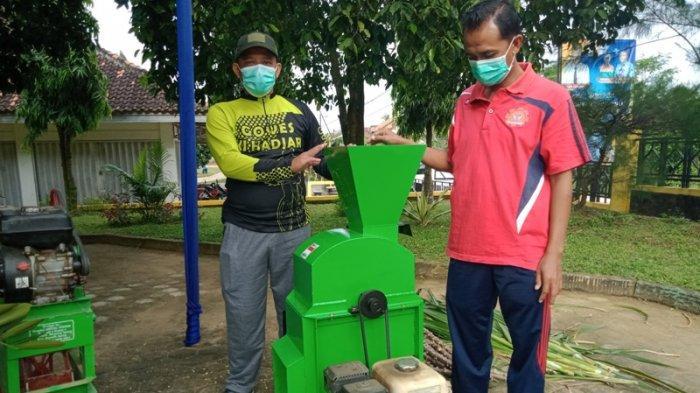 Siswa SMKN 1 Seputih Agung Berinovasi Buat Mesin Penggiling Pakan Ternak, Produk Sudah Dipasarkan