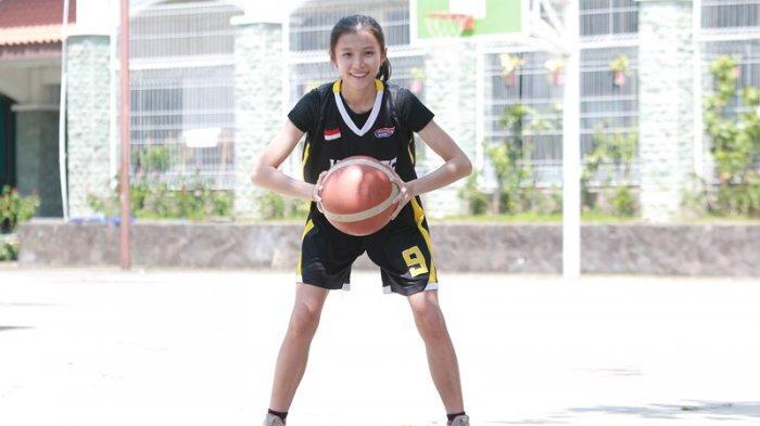 Siswi SMA Fransiskus Bandar Lampung Karen Candatara Pilih Jadi Atlet Basket