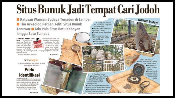 Situs Bunuk Jadi Tempat Cari Jodoh, Ratusan Warisan Budaya Tersebar di Lampung Barat