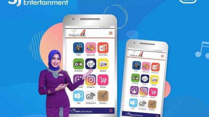 Sriwijaya Air Group Hadirkan SJ In-flight Entertainment di Setiap Penerbangan