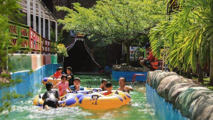 Asiknya Libur Lebaran di Slanik Waterpark, Banyak Wahana Seru!