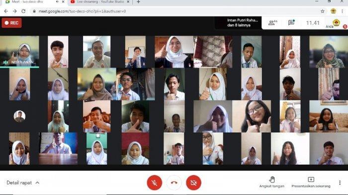 SMAN 15 Bandar Lampung Gelar LDK, Ada Materi Jurnalistik untuk Siswa