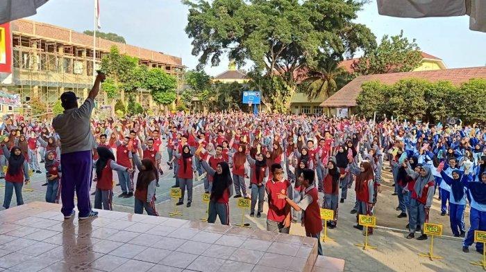 SMAN 5 Bandar Lampung Siap Sukseskan Penggunaan 1001 Tumbler dan Minimalisir Limbah Plastik